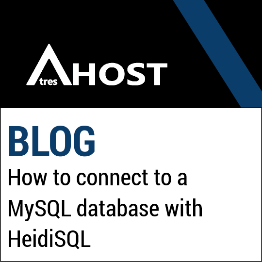 How to connect to a MySQL database with HeidiSQL