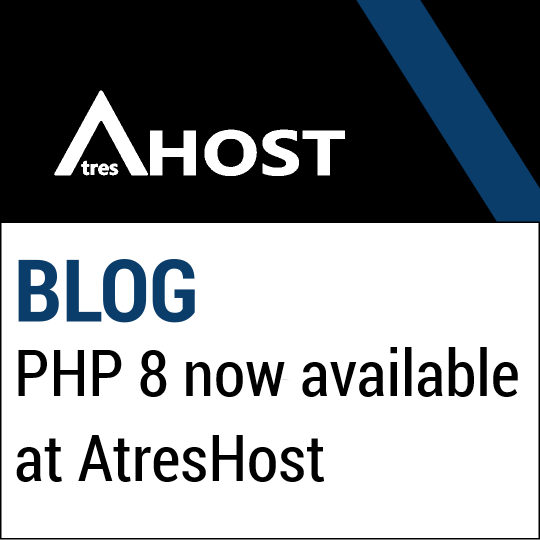 PHP 8 now available at AtresHost