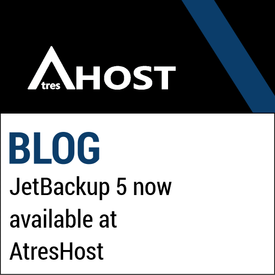 JetBackup 5 now available in AtresHost